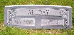 Nettie Alva <i>Vernon</i> Allday