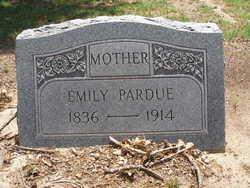 Emily Adline <i>Letcher</i> Pardue