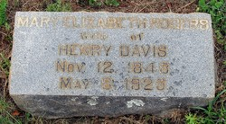 Mary Elizabeth <i>Rogers</i> Davis