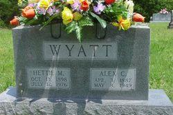 Alex C Wyatt