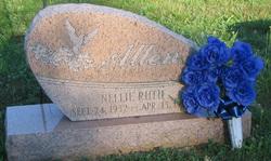 Nellie Ruth <i>Troutman</i> Allen