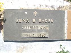 Edna Blanche <i>Pullen</i> Baker