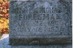 Nellie Armina <i>Richart</i> Foresman