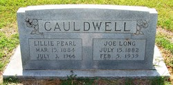 Lillie Pearl <i>Rosson</i> Cauldwell