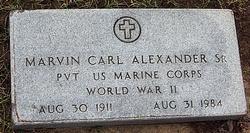 Marvin Carl Mike Alexander, Sr