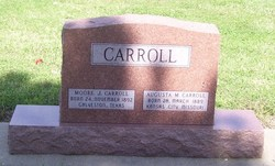 Augusta Maria <i>Gellert</i> Carroll