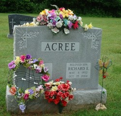 Richard E Acree