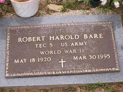 Robert Harold Bare