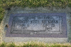 Evelyn <i>Viste Beckman</i> Vaughn