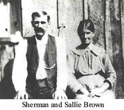 Sarah Jane Sallie <i>Brown</i> Brown
