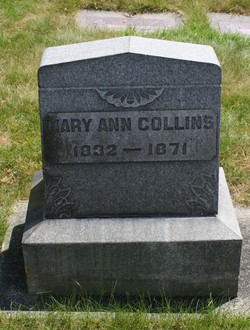 Mary Ann <i>McElroy</i> Collins