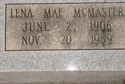 Lena Mae <i>McMaster</i> Culipher