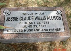 Jessie Claude Willis Allison