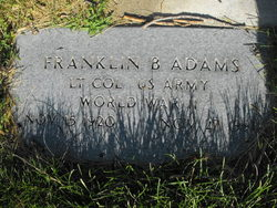 LTC Franklin Brown Adams