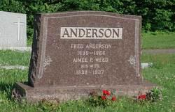 Aimee P <i>Weed</i> Anderson