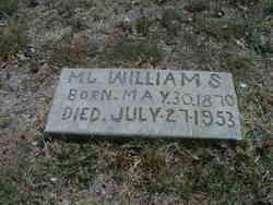 Mahala J <i>McGary</i> Williams