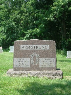Marie H. <i>Hobson</i> Armstrong