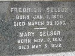 Mary (Polly) <i>Rankin</i> Selsor