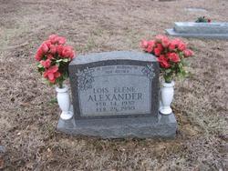Lois Elene <i>Brooks</i> Alexander