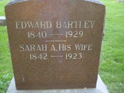 Sarah Ann <i>Fry</i> Bartley