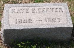 Catherine (Kate) Stoudt <i>Wade</i> Deeter