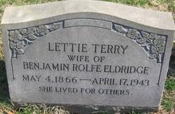 Lettie Lettie <i>Terry</i> Eldridge