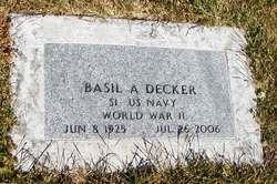 Basil Andy Decker