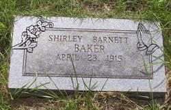 Shirley <i>Barnett</i> Baker