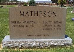 Scott Milne Matheson, Sr