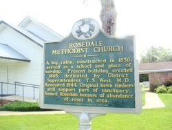 Rosedale United Methodist Church Cemetery