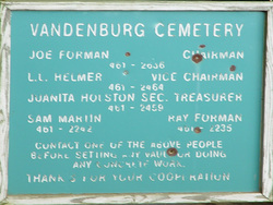 Vandenburg Cemetery