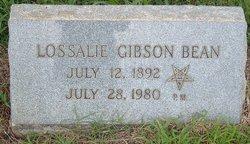 Lossie Lee <i>Gibson</i> Bean