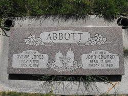 Sylvia <i>Jones</i> Abbott