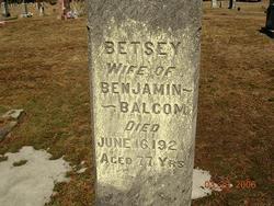 Betsey <i>Bills</i> Balcom