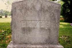 Eliza Jane <i>Gabbard</i> Baker