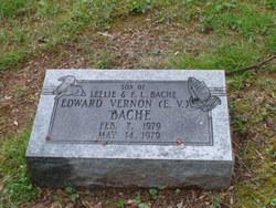 Edward Vernon E.V Bache
