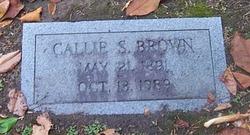 Callie Belle <i>Stewart</i> Brown