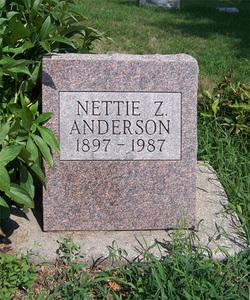 Nettie Zenaphine <i>Hunt</i> Anderson