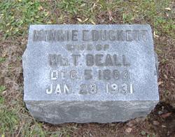 Minnie Ella <i>Duckett</i> Beall