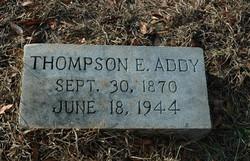 Thompson E Addy