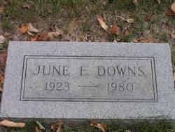 June E Downs