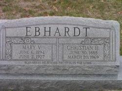Mary V Ebhardt