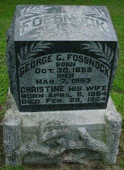 George C Fossnock