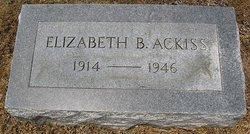 Elizabeth Armistead <i>Blackwell</i> Ackiss