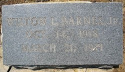 Wilton Lankford Barnes, Jr