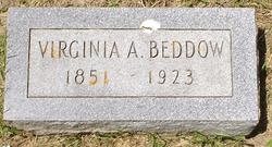 Virginia A. Jennie <i>Baker</i> Beddow