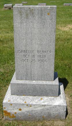 Isabelle <i>Harry</i> Blaker