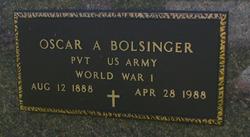 Oscar Arnold Bolsinger