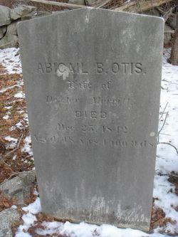 Abigail B <i>Otis</i> Merritt