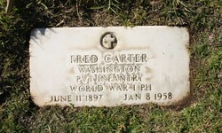 Pvt Fred Carter